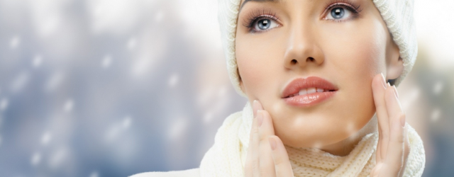 Glowing skin in winters