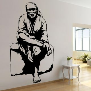 Sai Baba Wall Decal-Small