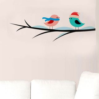 Wall Sticker - Winter Birds