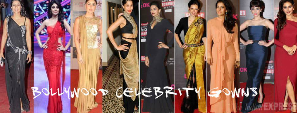 Bollywood Celebrity gowns