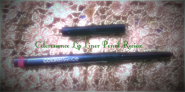 Coloressence Lip Liner Pencil Review