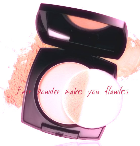 Face powder makes you flawless
