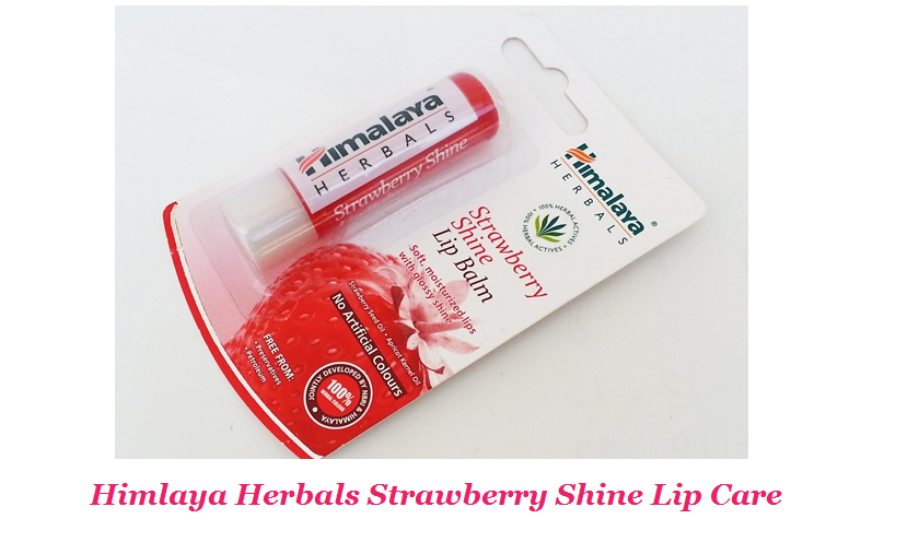 Himlaya Herbals Strawberry Shine Lip Care