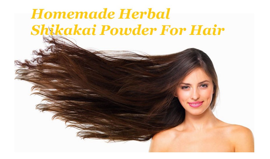 Homemade Herbal Shikakai Powder For Hair