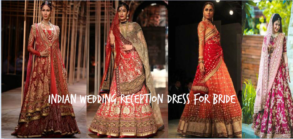 Indian Wedding Reception Dress for bride