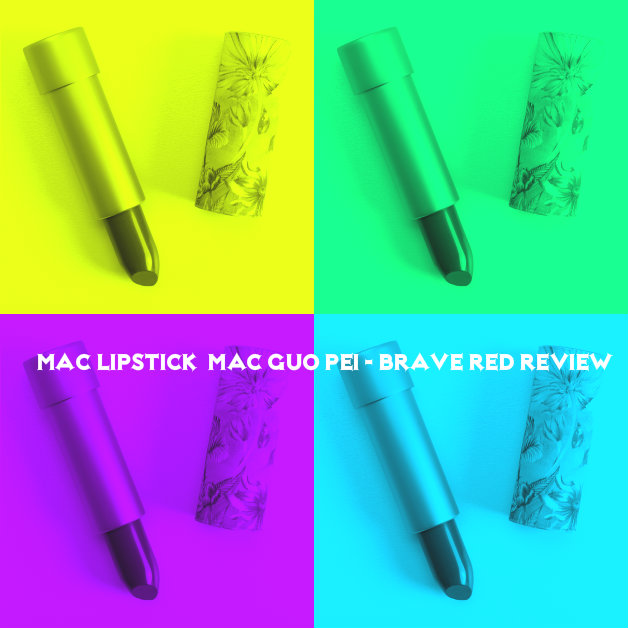 Mac Lipstick / MAC Guo Pei - Brave Red Review