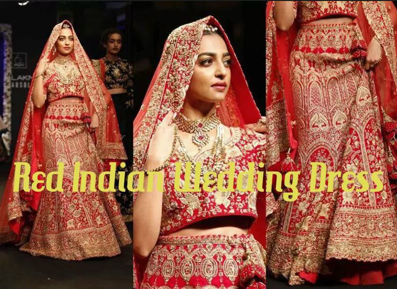 Red Indian Wedding Dress