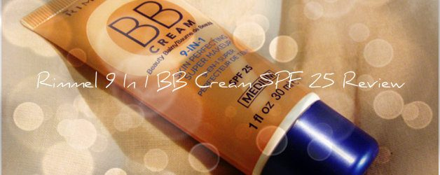 Rimmel 9 In 1 BB Cream SPF 25 Review