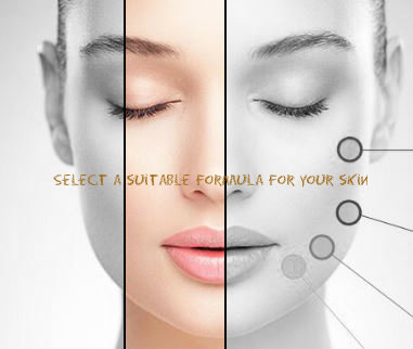 Select a suitable formula for your skin