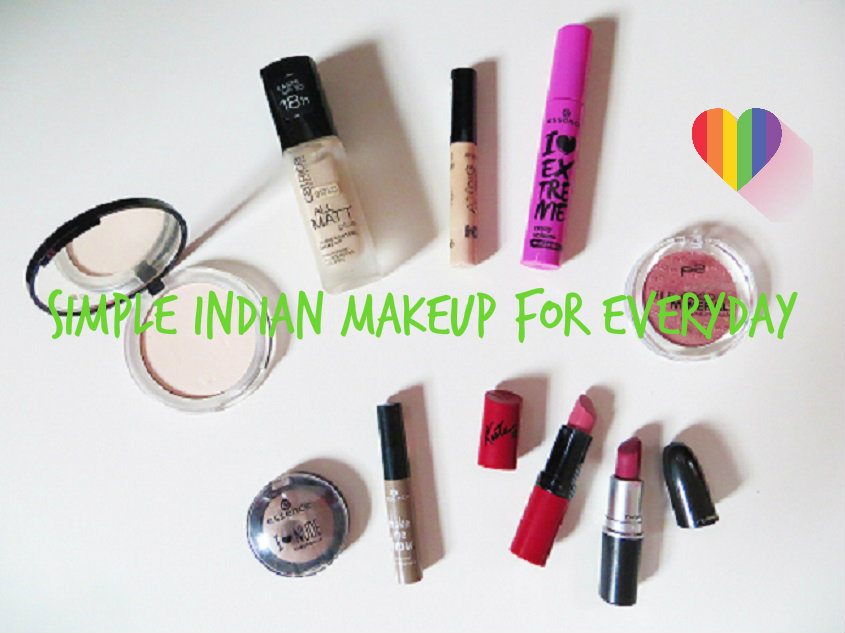 Simple Indian Makeup For Everyday
