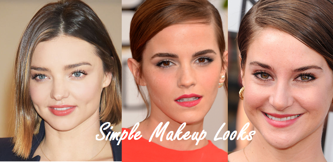 Simple Makeup Looks